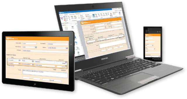 Nintex Forms Devices